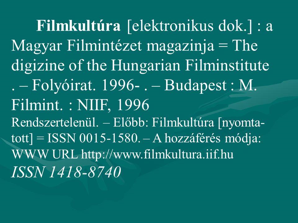 Filmkultúra [elektronikus dok
